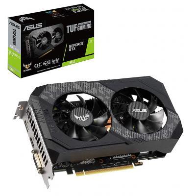 Відеокарта ASUS GeForce GTX1660 6144Mb TUF Gaming OC (TUF-GTX1660-O6G-GAMING)