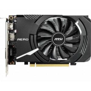 Відеокарта MSI GeForce GTX1650 4096Mb AERO ITX OC (GTX 1650 AERO ITX 4G OC)