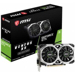 Відеокарта MSI GeForce GTX1650 4096Mb VENTUS XS OC (GTX 1650 VENTUS XS 4G OC)