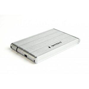 Кишеня зовнішня GEMBIRD 2.5″, USB3.0, серебро (EE2-U3S-5-S)