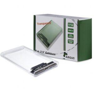 Кишеня зовнішня Argus 2.5′ SATA III, max 4TB ,USB 3.0 (GD-25000)