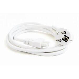 Кабель живлення C5 1.8m white Cablexpert (PC-186-ML12-W)