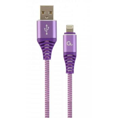 Дата кабель USB 2.0 AM to Lightning 1.0m Cablexpert (CC-USB2B-AMLM-1M-PW)