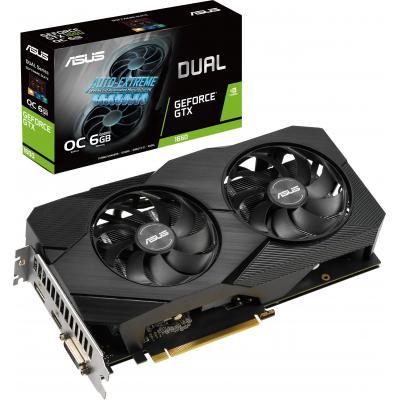 Відеокарта ASUS GeForce GTX1660 6144Mb DUAL OC EVO (DUAL-GTX1660-O6G-EVO)
