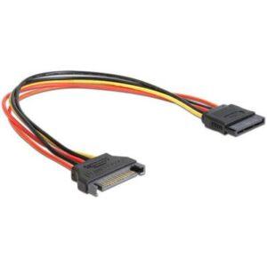 Кабель живлення Cablexpert SATA power extention 0.3 м (CC-SATAMF-01)