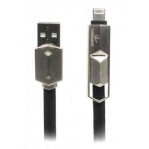 Дата кабель USB 2.0 AM to Micro 5P 1.0m Cablexpert (CCPB-ML-USB-05BK)