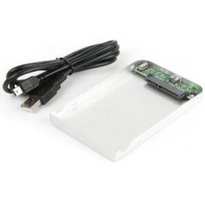 Кишеня зовнішня AgeStar 2.5″, USB2.0, серебро (SUB2O1 (silver))
