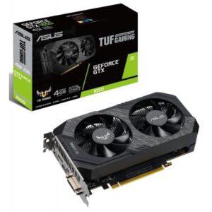 Відеокарта ASUS GeForce GTX1650 4096Mb TUF OC D6 GAMING (TUF-GTX1650-O4GD6-GAMING)