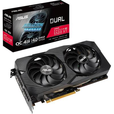 Відеокарта ASUS Radeon RX 5500 XT 4096Mb DUAL OC EVO (DUAL-RX5500XT-O4G-EVO)