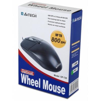Мишка A4tech OP-720 Black-USB