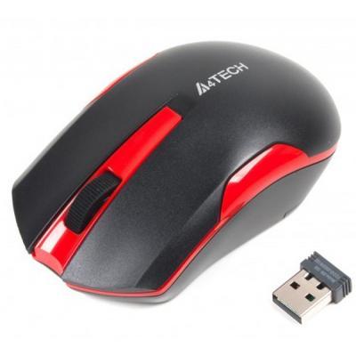 Мишка A4tech G3-200N Black+Red