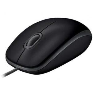 Мишка Logitech B110 Silent Black (910-005508)