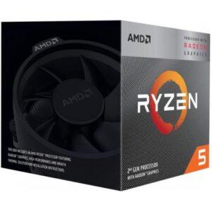 Процесор AMD Ryzen 5 3400G (YD3400C5FHBOX)
