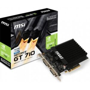 Відеокарта GeForce GT710 2048Mb MSI (GT 710 2GD3H H2D)