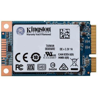 Накопичувач SSD mSATA 480GB Kingston (SUV500MS/480G)