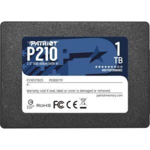 Накопичувач SSD 2.5″ 1TB Patriot (P210S1TB25)