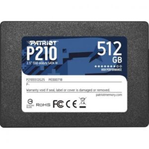 Накопичувач SSD 2.5″ 512GB Patriot (P210S512G25)