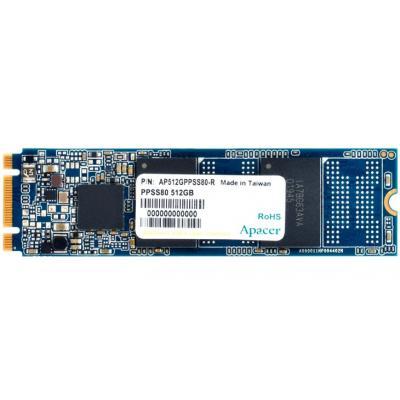 Накопичувач SSD M.2 2280 512GB Apacer (AP512GPPSS80-R)