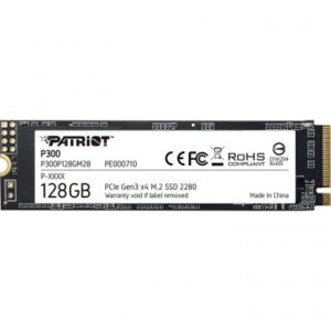 Накопичувач SSD M.2 2280 128GB Patriot (P300P128GM28)