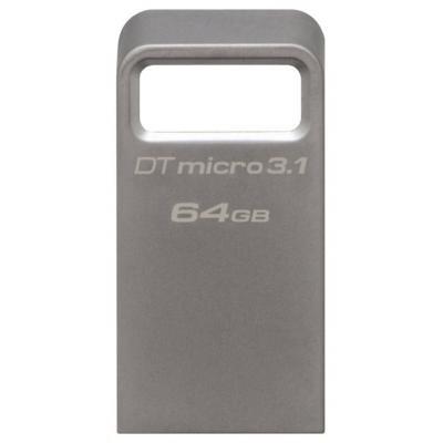 USB флеш накопичувач Kingston 64GB DataTraveler Micro USB 3.1 (DTMC3/64GB)