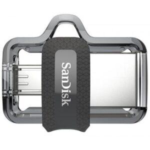 USB флеш накопичувач SANDISK 16GB Ultra Dual Black USB 3.0 OTG (SDDD3-016G-G46)