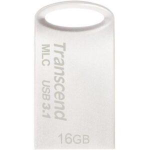USB флеш накопичувач Transcend 16GB JetFlash 720 Silver Plating USB 3.1 (TS16GJF720S)
