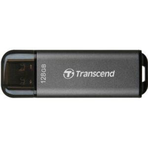 USB флеш накопичувач Transcend 128GB JetFlash 920 Black USB 3.2 (TS128GJF920)