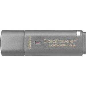 USB флеш накопичувач Kingston 128GB DataTraveler Locker+ G3 USB 3.0 (DTLPG3/128GB)