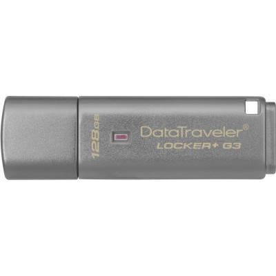 USB флеш накопDataTraveler Locker+ G3 USB 3.0 (DTLPG3/128GB)