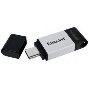 USB флеш накопичувач Kingston 256GB DataTraveler 80 USB 3.2/Type-C (DT80/256GB)