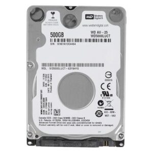 Жорсткий диск для ноутбука 2.5″ 500GB WD (# WD5000LUCT-FR#)