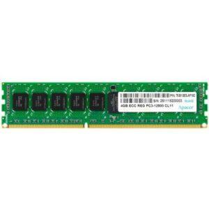 Модуль пам'яті для комп'ютера DDR3 4GB 1600 MHz Apacer (DL.04G2K.KAM)