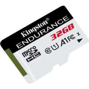 Карта пам'яті Kingston 32GB microSD class 10 UHS-I U1 A1 High Endurance (SDCE/32GB)