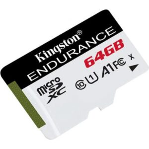 Карта пам'яті Kingston 64GB microSDXC class 10 UHS-I U1 A1 High Endurance (SDCE/64GB)