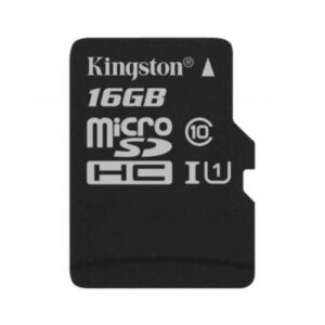 Карта пам'яті Kingston 16GB microSDHC class 10 Canvas Select Plus 100R A1 (SDCS2/16GBSP)
