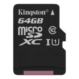 Карта пам'яті Kingston 64GB microSDXC Class 10 Canvas Select Plus 100R A1 (SDCS2/64GBSP)