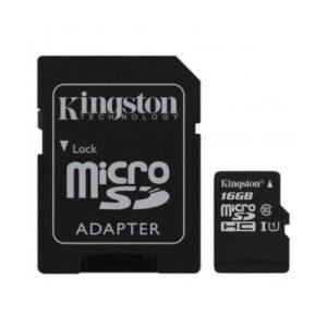 Карта пам'яті Kingston 16GB microSDHC Class 10 Canvas Select Plus 100R A1 (SDCS2/16GB)