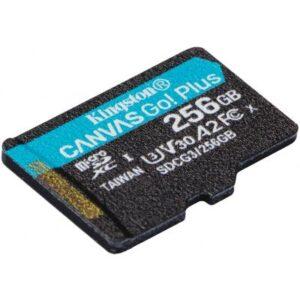 Карта пам'яті Kingston 256GB microSDXC class 10 A2 U3 V30 Canvas Go Plus (SDCG3/256GBSP)