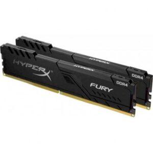 Модуль пам'яті для комп'ютера DDR4 32GB (2x16GB) 3200 MHz Fury Black Kingston (HX432C16FB4K2/32)
