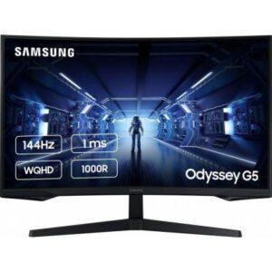 Монітор Samsung Odyssey G5 LC27G55T Black (LC27G55TQWIXCI)