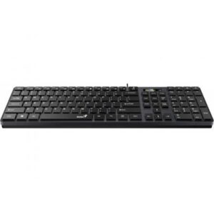 Клавіатура Genius SlimStar 126 USB Black Ukr (31310017407)