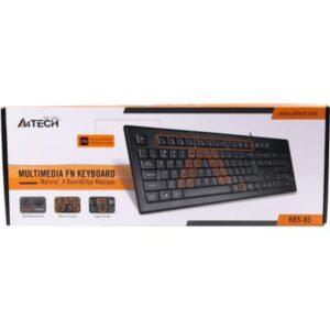 Клавіатура A4tech KRS-85 USB Black
