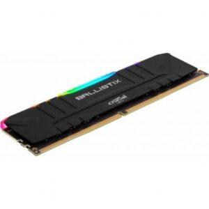 Модуль пам'яті для комп'ютера DDR4 16GB 3200 MHz Ballistix Black RGB MICRON (BL16G32C16U4BL)