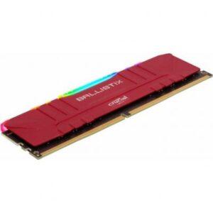 Модуль пам'яті для комп'ютера DDR4 8GB 3600 MHz Ballistix Red RGB MICRON (BL8G36C16U4RL)
