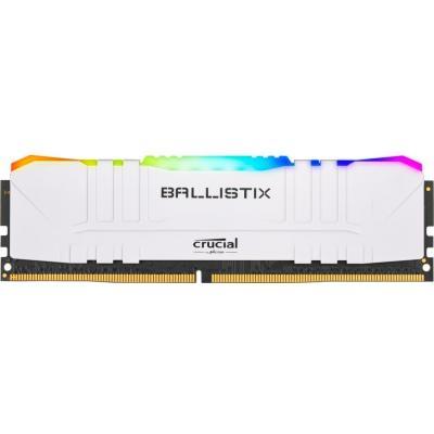 3200 MHz Ballistix White RGB