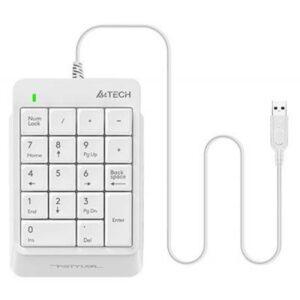 Клавіатура A4tech K13P Fstyler Numeric Keypad White (FK13P (White))