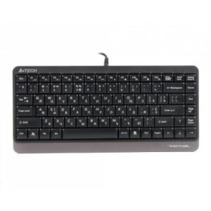 Клавіатура A4tech FK11 Fstyler Compact Size USB Grey (FK11 USB (Grey))
