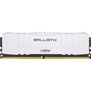 Модуль пам'яті для комп'ютера DDR4 8GB 3600 MHz Ballistix White MICRON (BL8G36C16U4W)