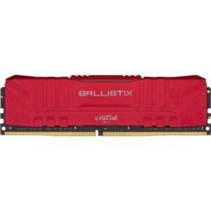 Модуль пам'яті для комп'ютера DDR4 16GB 3200 MHz Ballistix Red MICRON (BL16G32C16U4R)