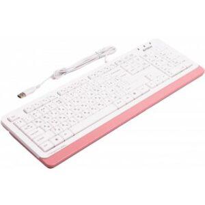 Клавіатура A4tech FK10 Pink